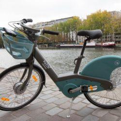 Vélib électrique en 2018 à Paris