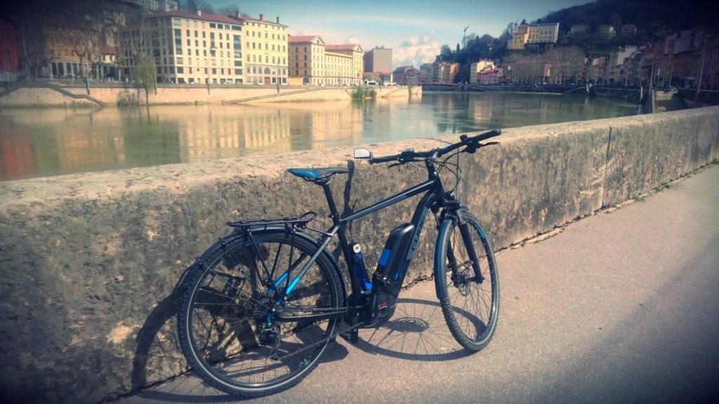 Vélo électrique à Lyon