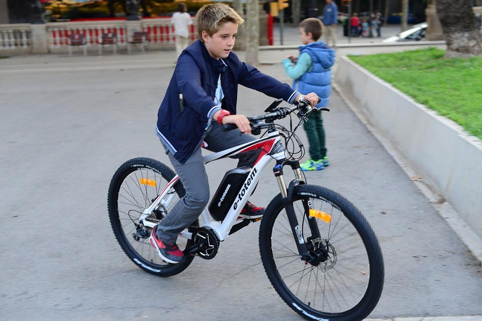 Vélo électrique enfant