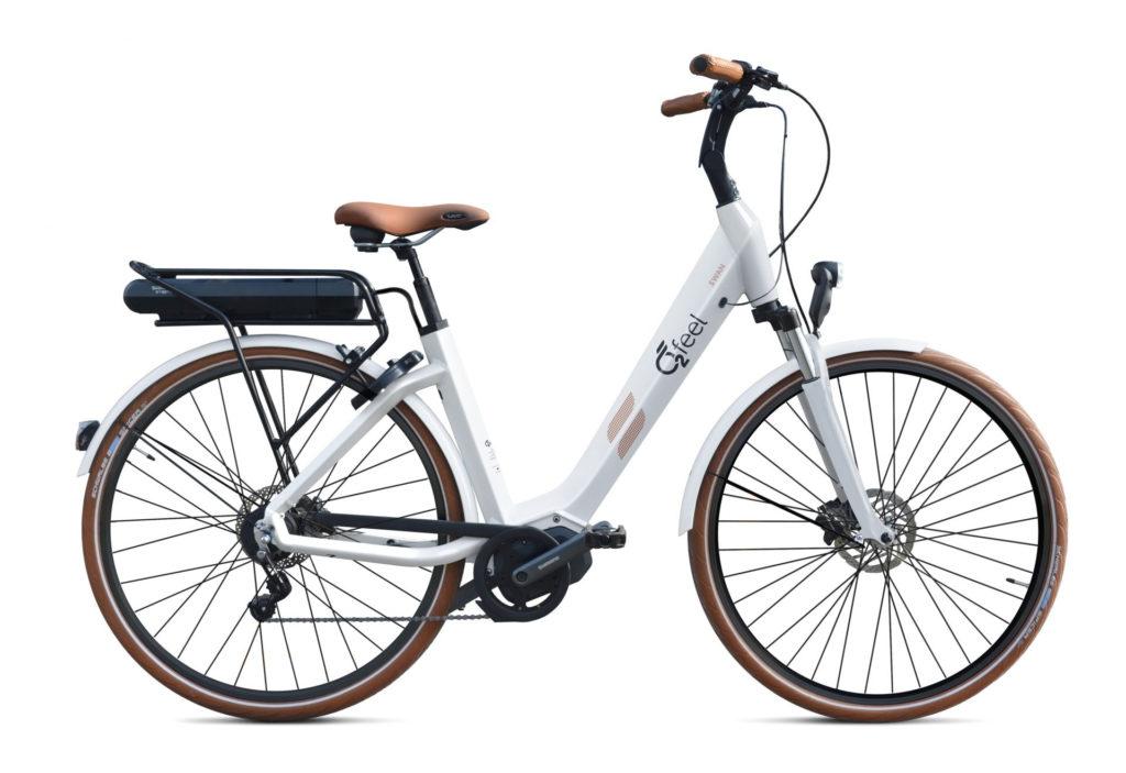 vélo urbain électrique O2Feel SWAN N8