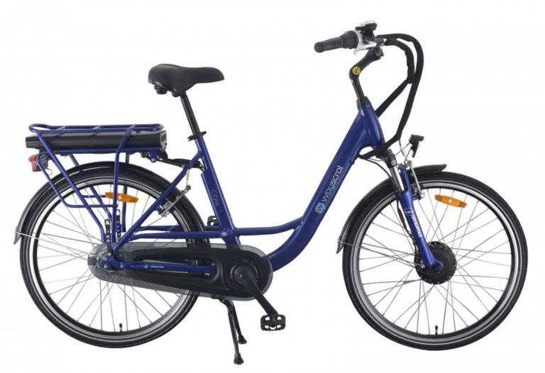 Vélo Wayscral City 520 bleu