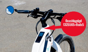 Marquage pour vélo électrique