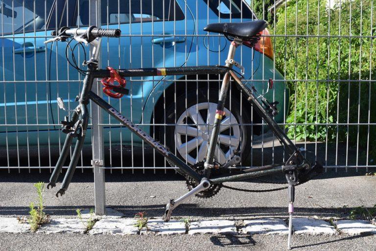 Vélo volé et vandalisé