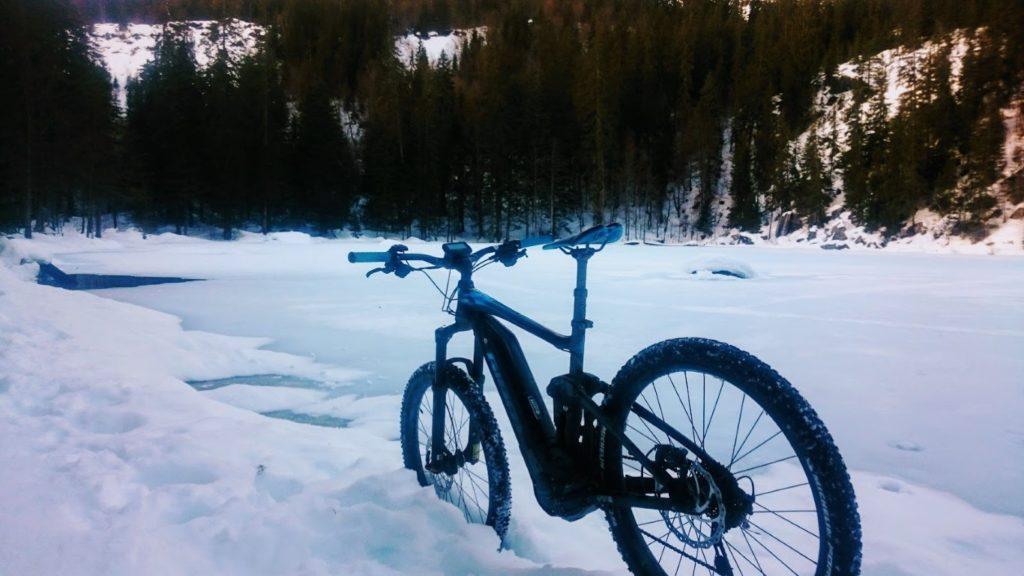Batterie vélo en hiver