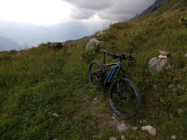 VTT électrique en Montagne