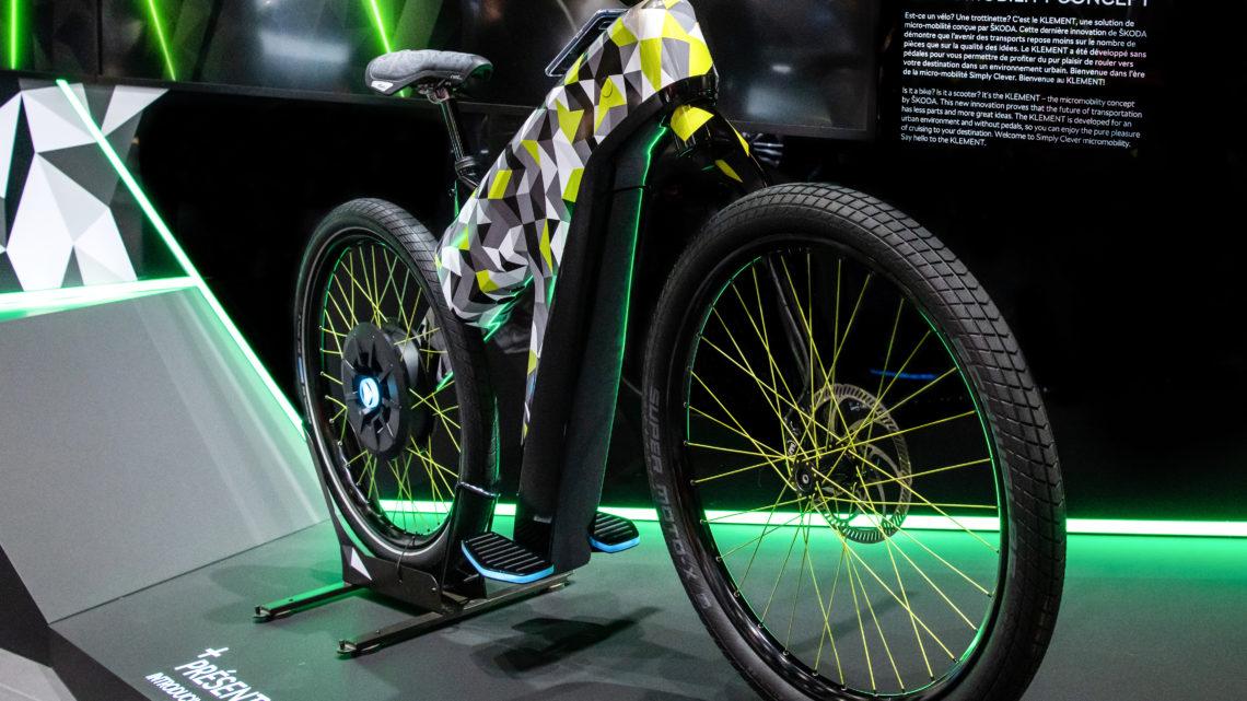 Vélo électrique Skoda Klement