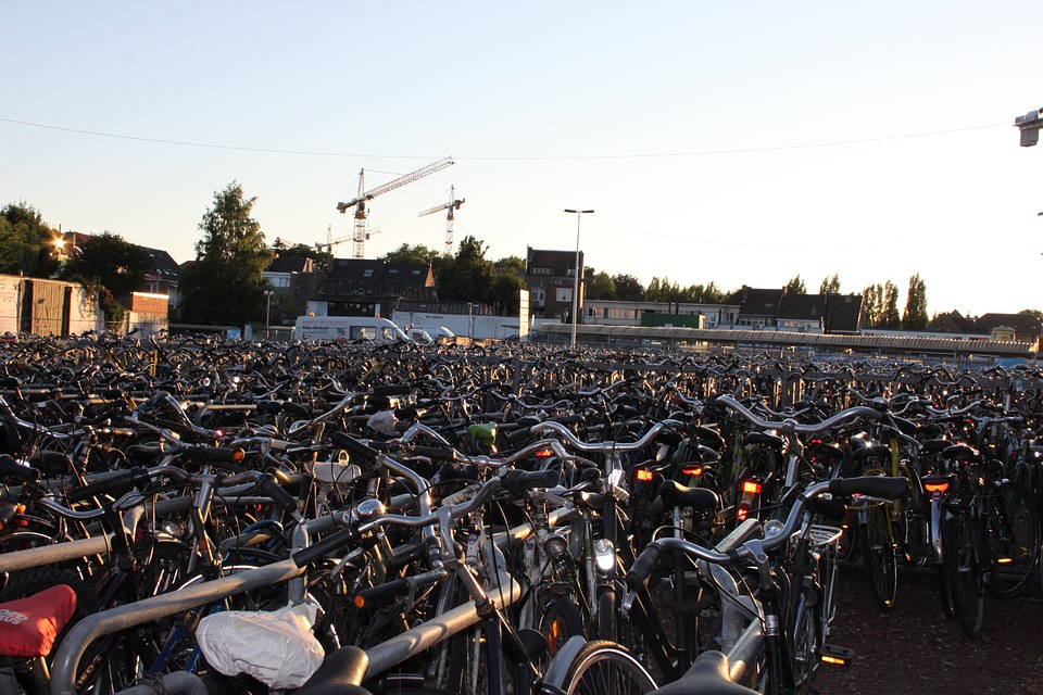 Parking vélo de la ville de Gand