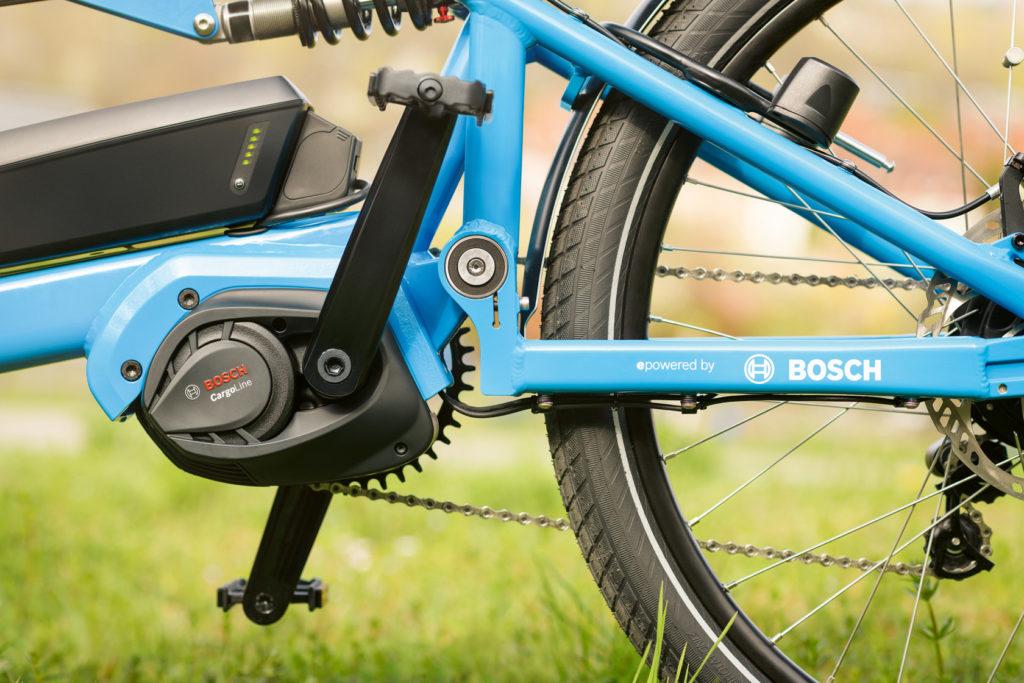 Nouveau moteur pour vélo cargo électrique
