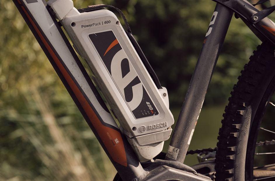 Battere vélo électrique