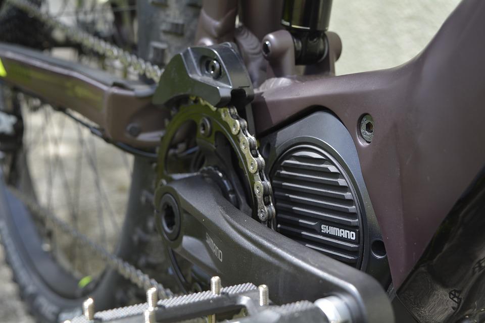 Plateau vélo électrique