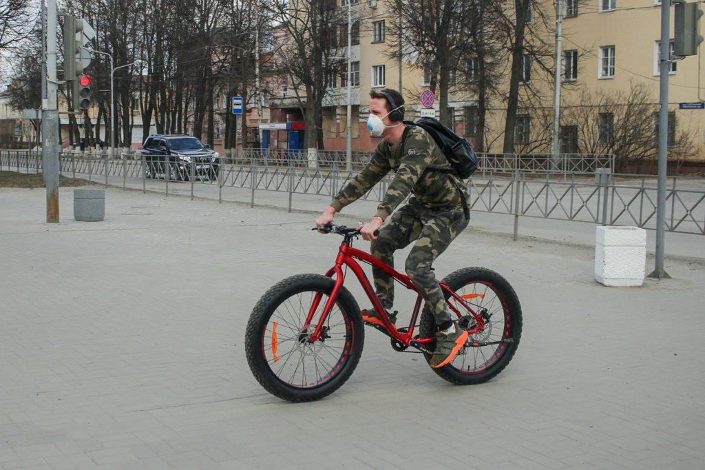 Masque pour vélo