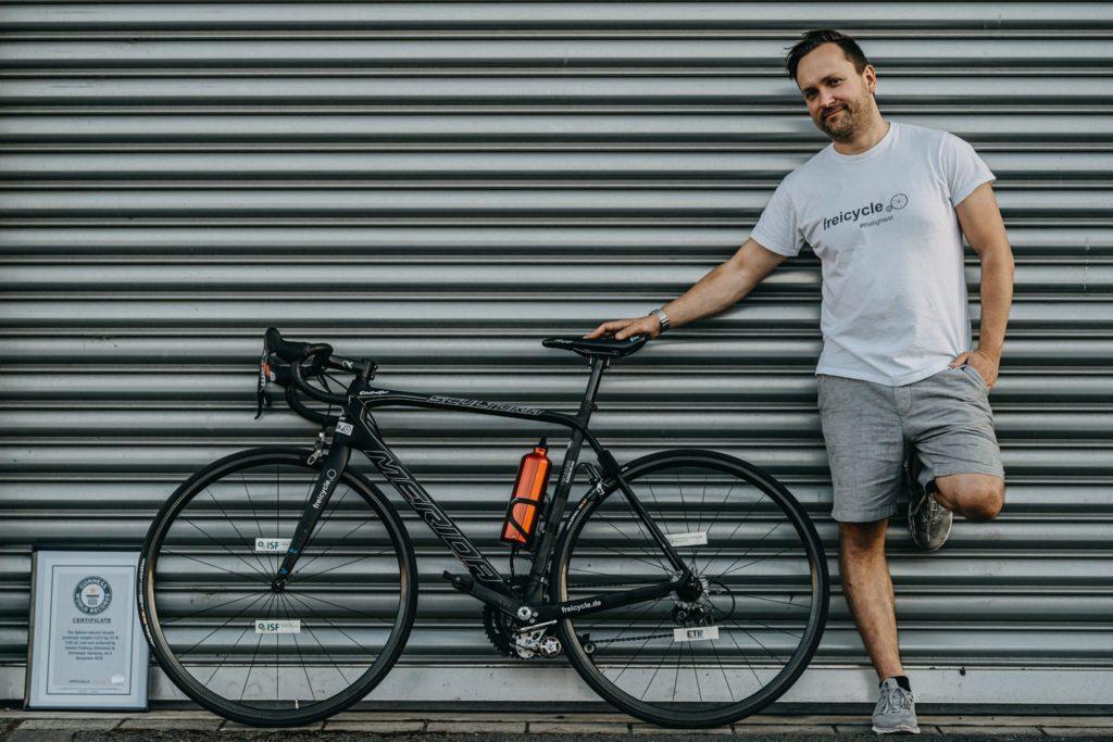 freicycle vélo électrique le plus léger du monde