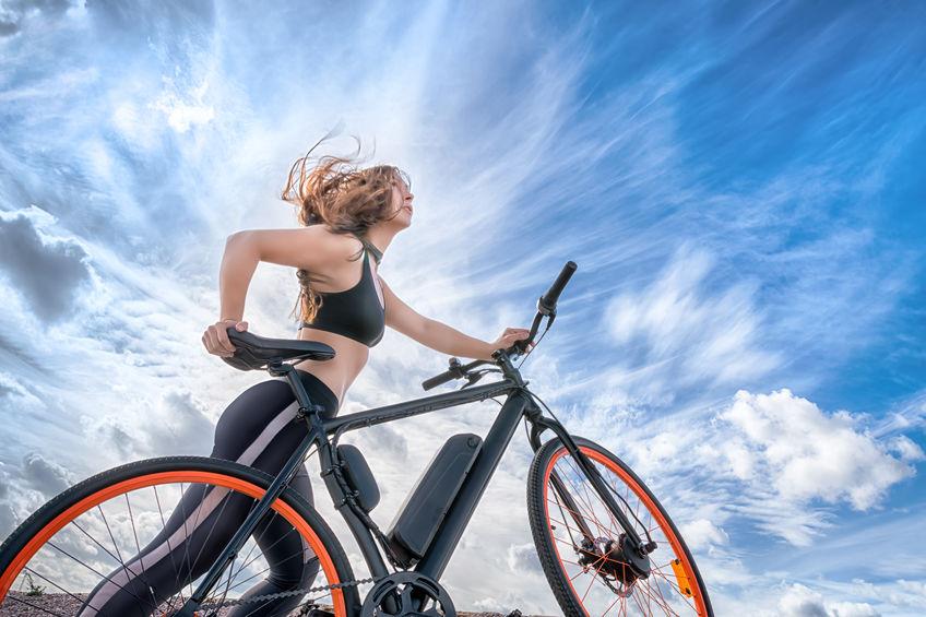 Vélo électrique femme