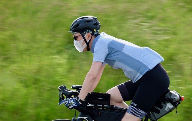 Vélo masqué