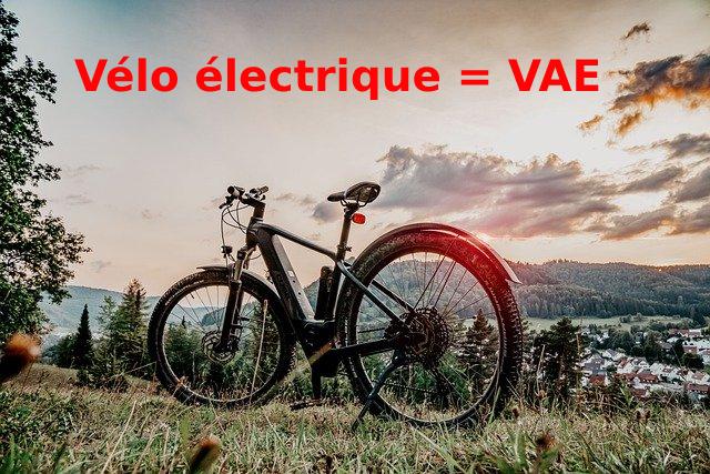 Différence VAE et vélo électrique