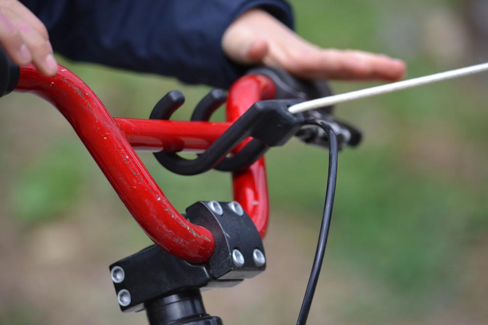 Attache tire vélo