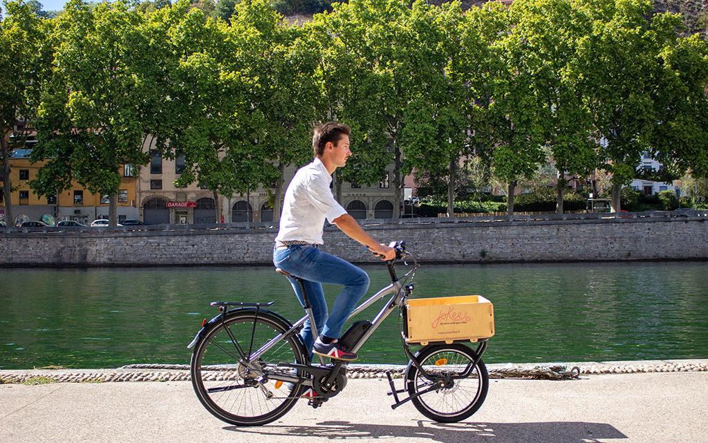 Transformer vélo en vélo cargo