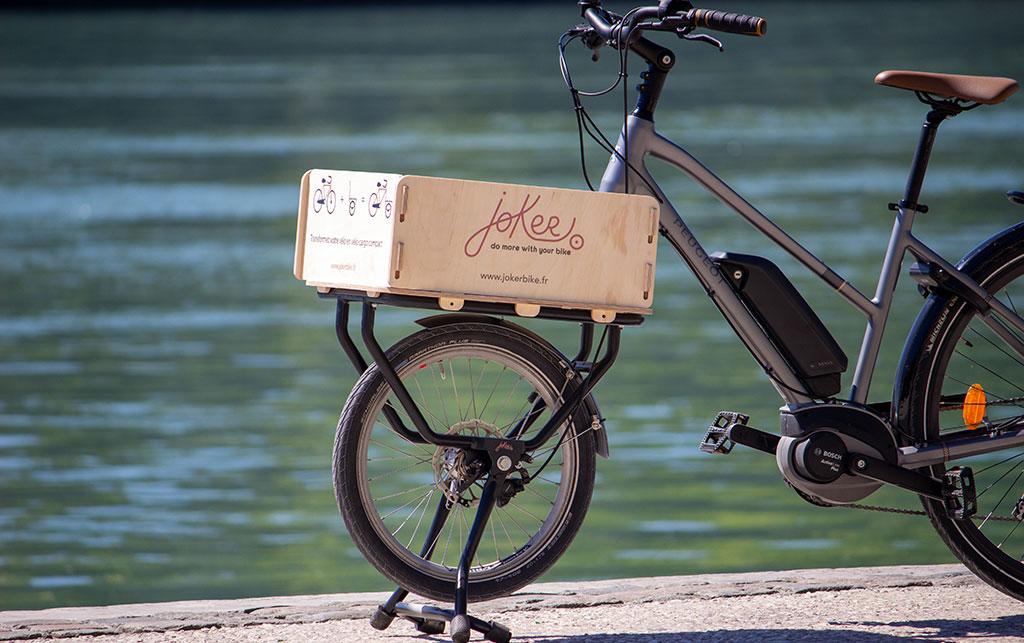 Kit convertir vélo cargo