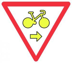 Panneau feu vélo
