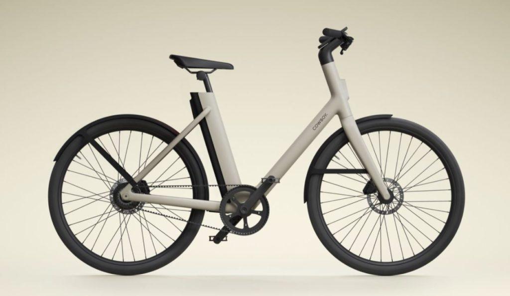 Vélo électrique Cowboy C4 ST ouvert