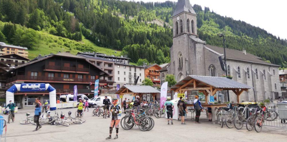 Ravitaillement Pass Portes à Châtel