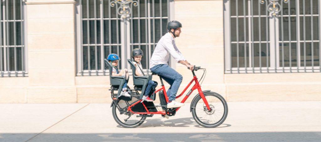 Vélo cargo électrique Douze Cycles
